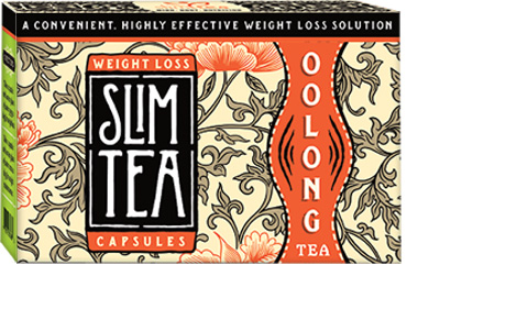 Oolong Slim Tea Capsules | Wu-Long Tea Slimming Capsules