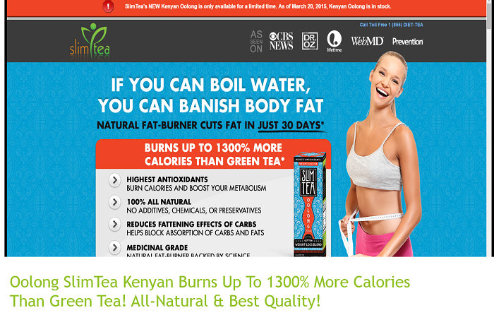 Oolong SlimTea Kenyan | Best All Natural Oolong Tea